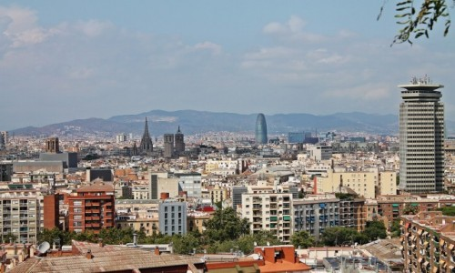 Zdjęcie HISZPANIA / Catalonia / Barcelona / Panorama Barcelony