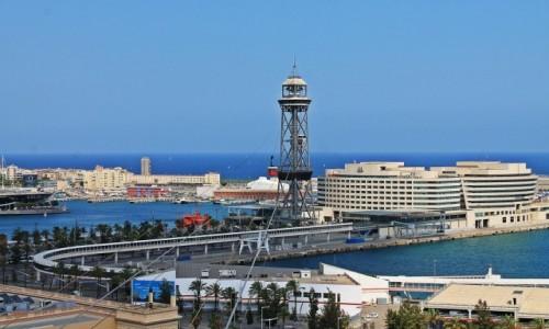 Zdjęcie HISZPANIA / Catalonia / Barcelona / Port w Barcelonie