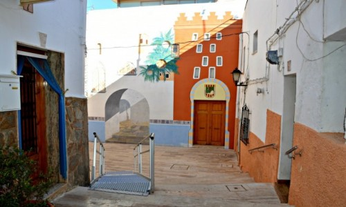 HISZPANIA / Costa Blanca / Calpe / Pastelowe zakątki