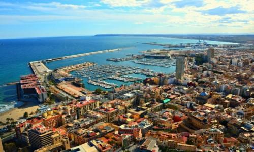 Zdjęcie HISZPANIA / Costa Blanca / Alicante / Panorama Alicante