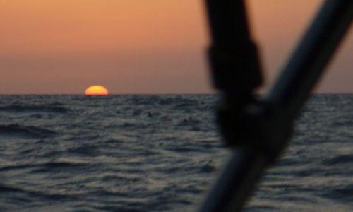 Zdjecie HISZPANIA / Morze Śródziemne / okolice Cartageny / Zachód na Morzu Śródziemnym