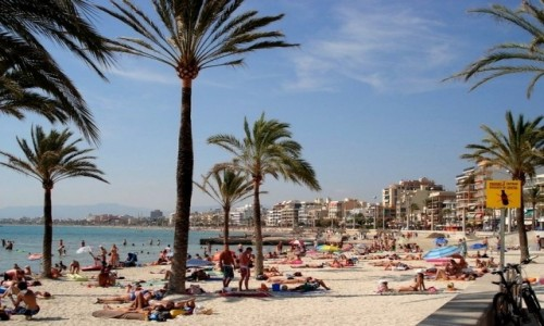 Zdjęcie HISZPANIA / Baleary, Majorka / El Arenal / Z serii: lato na Majorce.