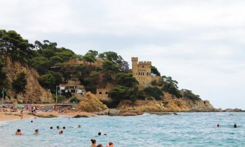 Zdjecie HISZPANIA / Catalonia / Lloret de Mar / Zamek