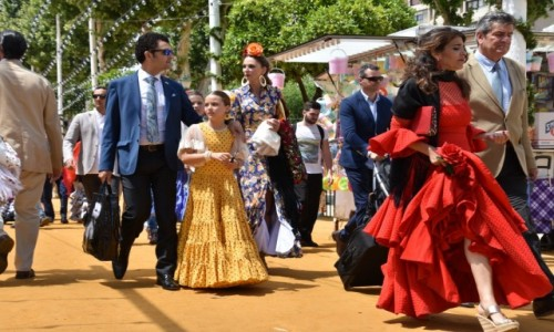 Zdjęcie HISZPANIA / Andaluzja / Sevilla / Feria de Abril w Sewilli