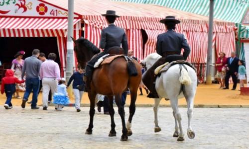 Zdjęcie HISZPANIA / Andaluzja / Sewilla / Feria de Abril w Sewilli