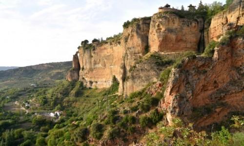 Zdjęcie HISZPANIA / Andaluzja / Ronda / Ronda - miasteczko nad urwiskiem