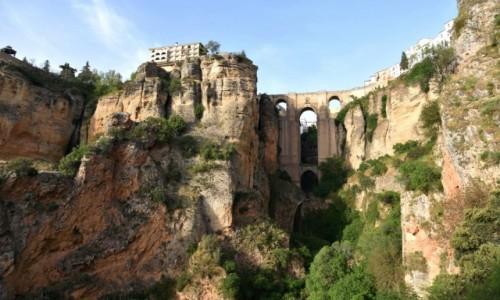 HISZPANIA / Andaluzja / Ronda / Ronda - miasteczko nad urwiskiem