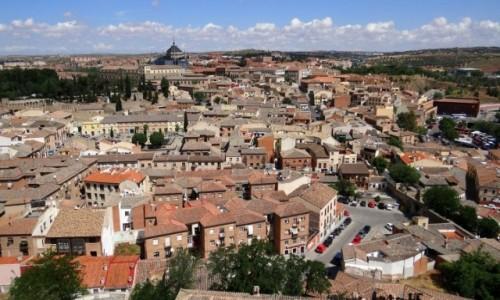 Zdjęcie HISZPANIA / Castilla-La Mancha / Toledo / Ceglasto