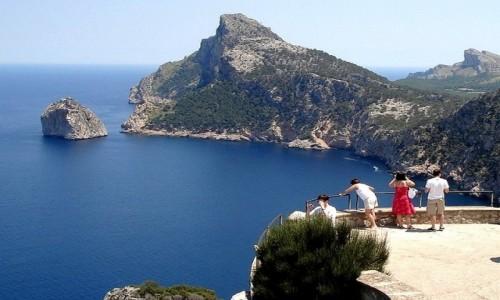 Zdjęcie HISZPANIA / Baleary, Majorka / Przylądek Formentor / Z serii: lato na Majorce.