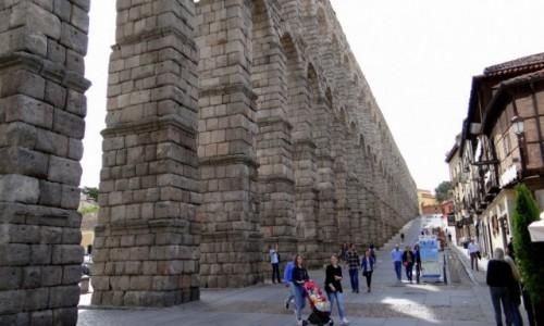 Zdjecie HISZPANIA / Castilla y León / Segovia / Akwedukt rzymski