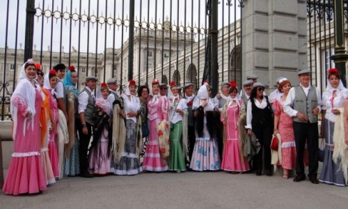 Zdjecie HISZPANIA / Madryt / Madryt / Chulapos y goyescos