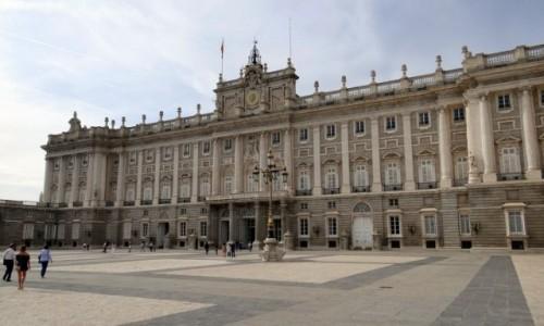 Zdjecie HISZPANIA / Madryt / Madryt / Pałac Królewski