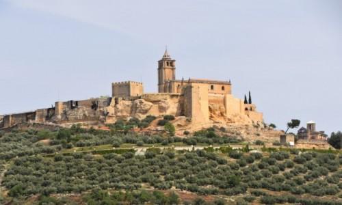 HISZPANIA / Andaluzja / między Kordobą a Grenadą / Widziane po drodze