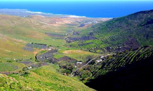 HISZPANIA / xxx / Lanzarote / Widok z góry - Lanzarote
