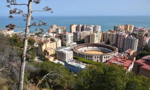 Zdjecie HISZPANIA / Andaluzja / Malaga, Plaza de Toros / Widok na arenę walk byków