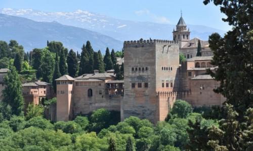 Zdjecie HISZPANIA / Andaluzja / Grenada / Alhambra