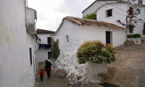 HISZPANIA / Andaluzja / Ubrique / W miasteczku Ubirque