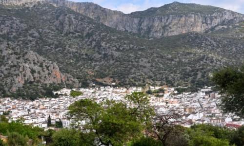 Zdjęcie HISZPANIA / Andaluzja / Ubrique / Widok na pueblos blancos - Ubrique