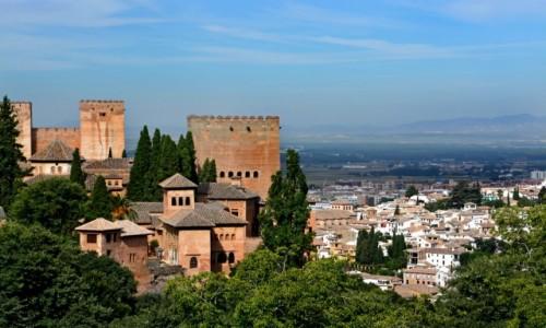 Zdjęcie HISZPANIA / Andaluzja / Grenada / Alhambra