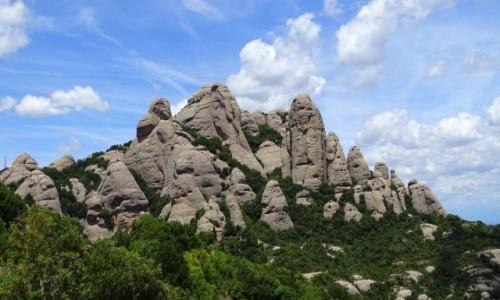 Zdjęcie HISZPANIA / Katalonia / Montserrat / Skalny zwierzyniec