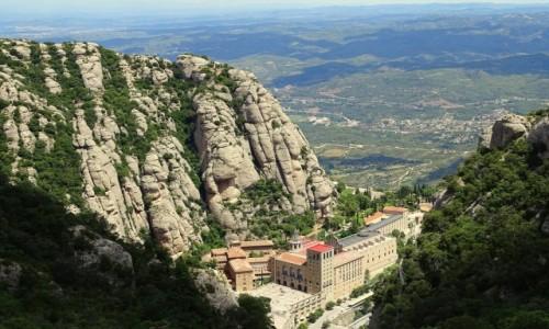 Zdjęcie HISZPANIA / Katalonia / Montserrat / Serce Katalonii