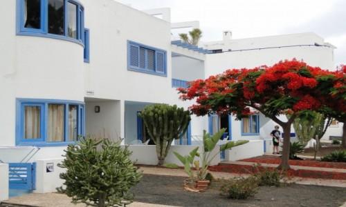 HISZPANIA / Wyspy Kanaryjskie / Lanzarote / Lanzaroteńska architektura.