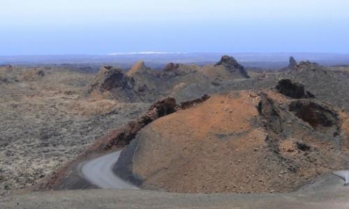 HISZPANIA / Wyspy Kanaryjskie / Lanzarote / Wulkaniczne klimaty (2)