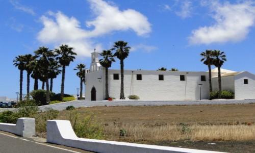 Zdjęcie HISZPANIA / Wyspy Kanaryjskie / Lanzarote / Kościół w Ye.