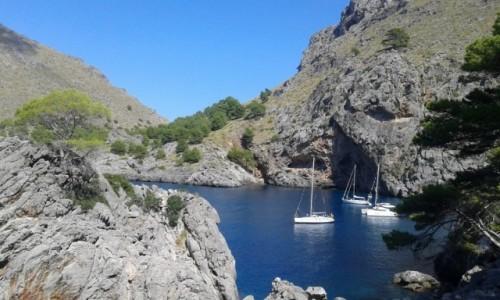 Zdjecie HISZPANIA / - / Majorka Zatoka Sa Calobra  / Majorka Zatoka Sa Calobra