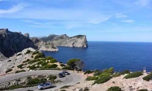 Zdjecie HISZPANIA / - / Majorka Przylądek Cap de Formentor / Majorka Przylądek Cap de Formentor