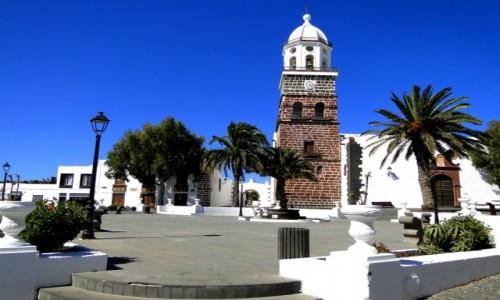 HISZPANIA / Wyspy Kanaryjskie / Lanzarote / Pocztówka z Lanzarote - Teguise.