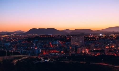 Zdjecie HISZPANIA / Comunidad Valenciana / Alicante / Widok z zamku Santa Barbara
