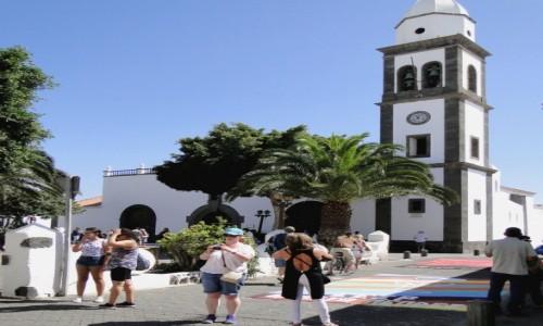 HISZPANIA / Wyspy Kanaryjskie / Lanzarote, Arrecife / Z serii: Boże Ciało w Arrecife (4).