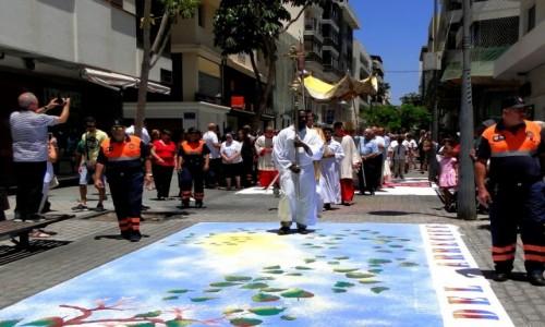 HISZPANIA / Wyspy Kanaryjskie / Lanzarote, Arrecife / Z serii: Boże Ciało w Arrecife (9)