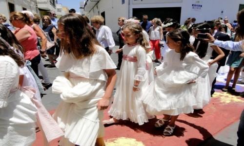 HISZPANIA / Wyspy Kanaryjskie / Lanzarote, Arrecife / Z serii: Boże Ciało w Arrecife (11)