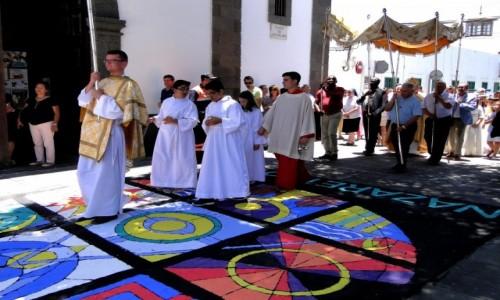 HISZPANIA / Wyspy Kanaryjskie / Lanzarote, Arrecife / Z serii: Boże Ciało w Arrecife (12)
