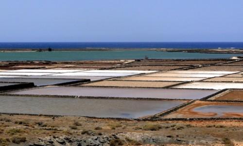 Zdjęcie HISZPANIA / Wyspy Kanaryjskie / Lanzarote / Salinas de Janubio (1)