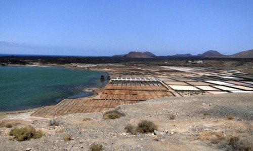 HISZPANIA / Wyspy Kanaryjskie / Lanzarote / Salinas de Janubio (3)