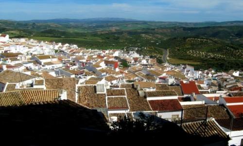Zdjecie HISZPANIA / Andaluzja / Olvera / Białe miasteczko