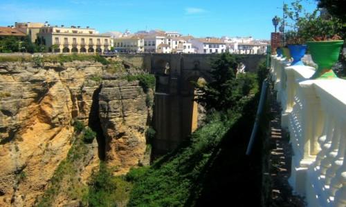 Zdjecie HISZPANIA / Andaluzja / Ronda / Most El Puente Nuevo