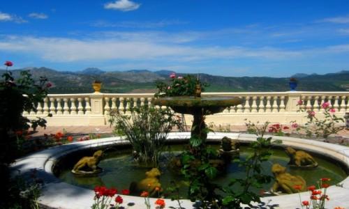 Zdjecie HISZPANIA / Andaluzja / Ronda / Fontanna