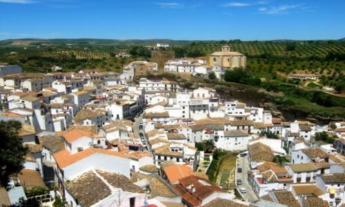 Zdjęcie HISZPANIA / Andaluzja / Olvera / Pueblo Blanco