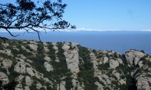 Zdjecie HISZPANIA / Katalonia / Montserrat / W stronę Pirenejów