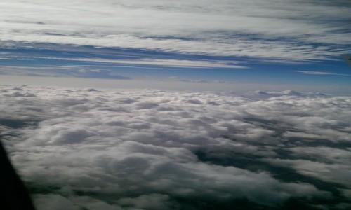 Zdjecie HISZPANIA / - / Barcelona / W chmurach
