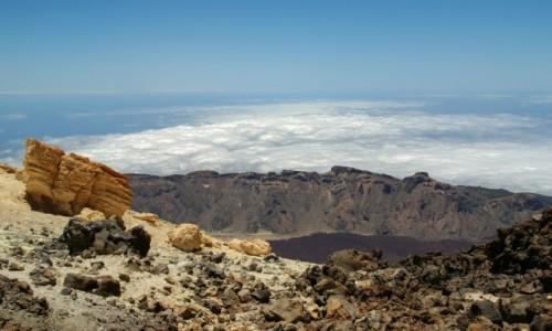 Zdjęcie HISZPANIA / Teneryfa / Teneryfa / Widok z Teide