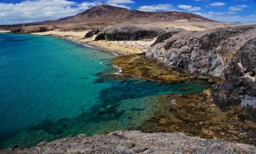 Zdjecie HISZPANIA / Wyspy Kanaryjskie / Lanzarote / plaże Papagayo