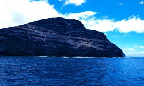 Zdjecie HISZPANIA / Wyspy Kanaryjskie / La Gomera / wybrzeże La Gomery