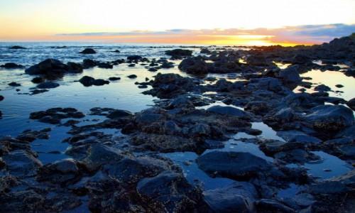 Zdjecie HISZPANIA / Wyspy Kanaryjskie / La Gomera / zachód słońca 3
