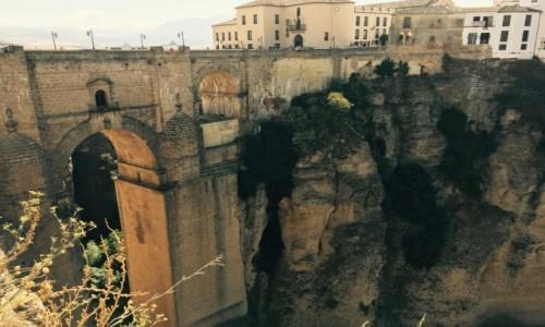 HISZPANIA / Andaluzja  / Ronda / Most w Rondzie