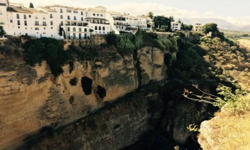 Zdjecie HISZPANIA / Andaluzja / Ronda / Miasto na skale